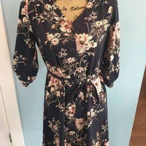 Stitch Fix 41 Hawthorn Cristen Shirt Dress- Small